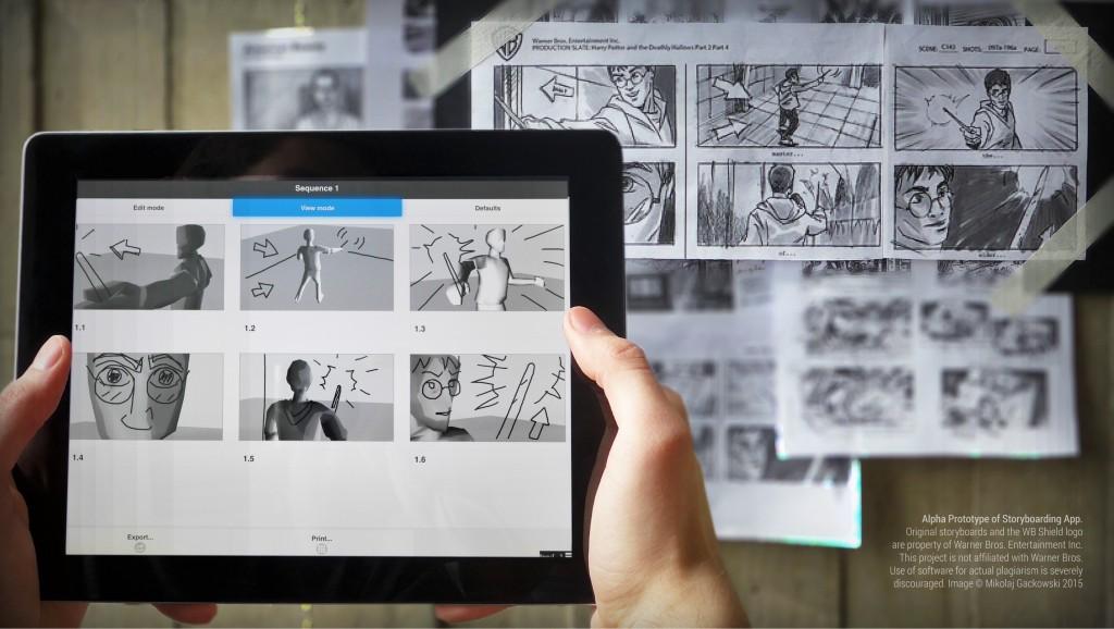 Rapid Storyboarding