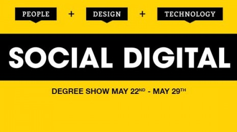 SocialDigital degree show banner